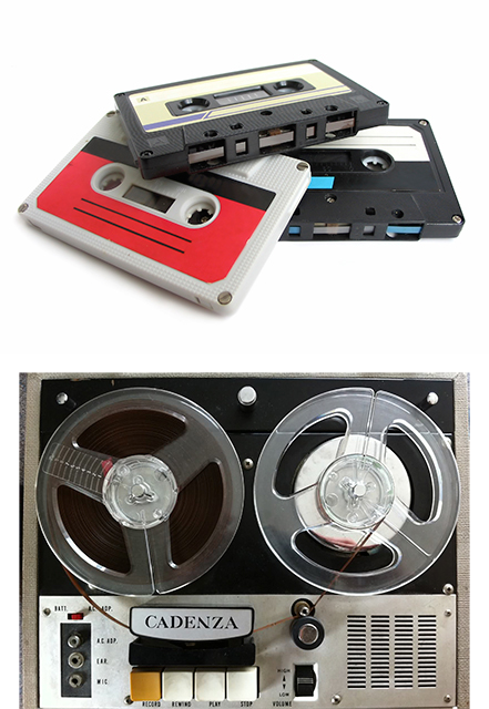 Audio-cassettes-and-reels